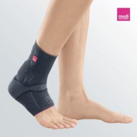 ACHIMED - Cavigliera elastica per il tendine d'Achille con supporti in silicone