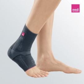 LEVAMED 508 - Cavigliera elastica con supporto in silicone