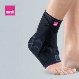 LEVAMED ACTIVE - Cavigliera elastica con sistema di cinghie stabilizzanti