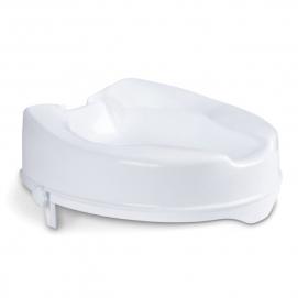 RIALZO PER WATER ALZA WC Con staffe laterali regolabili  - H. 10 cm