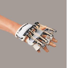 SLIPNT -ferula dr. Bunnel per mano (estensione metacarpi e dita)