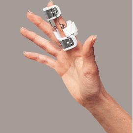 SPLINT - ferula dr Bunnel per dito singolo (estensione) con molla