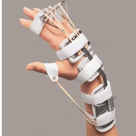 SPLINT - ferula dr. Bunnel per mano e polso (flessione polso -estensione dita -abduzione pollice)
