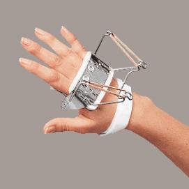 SPLINT - ferula dr Bunnel per mano (estensione metacarpi)