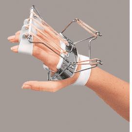 SPLINT - ferula dr . Bunnel per mano (estensione metacarpi e dita)