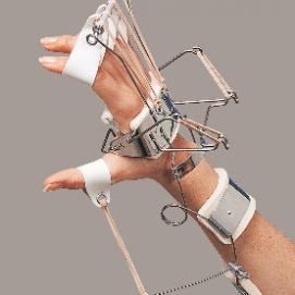 SPLINT - ferula dr. Bunnel per polso mano (estensione polso, metacarpi e dita - abduzione pollice)