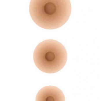 Set capezzoli mammari in silicone